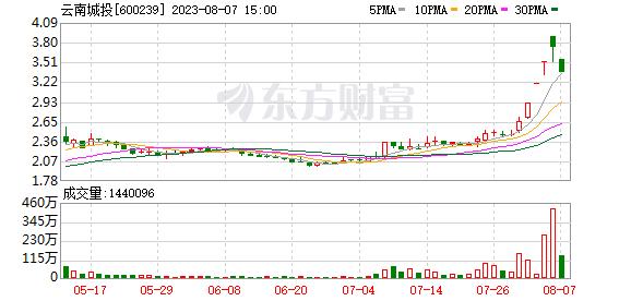云南城投置业股份有限公司公告