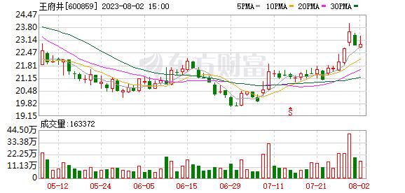 王府井(600859)融资融券信息(09