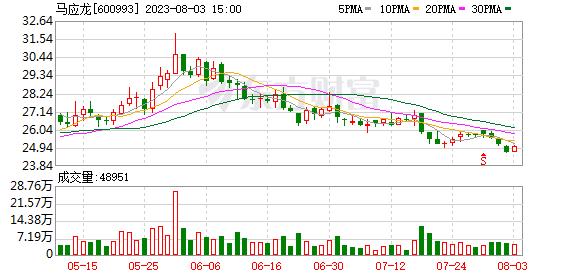马应龙股票