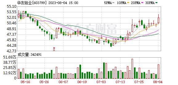 华友钴业股票